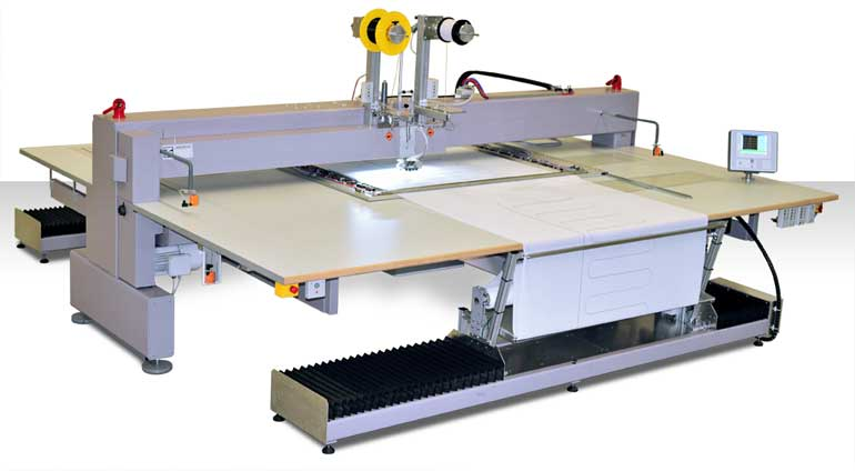 ZSK Technical Embroidery Machine SGW-0100-1375
