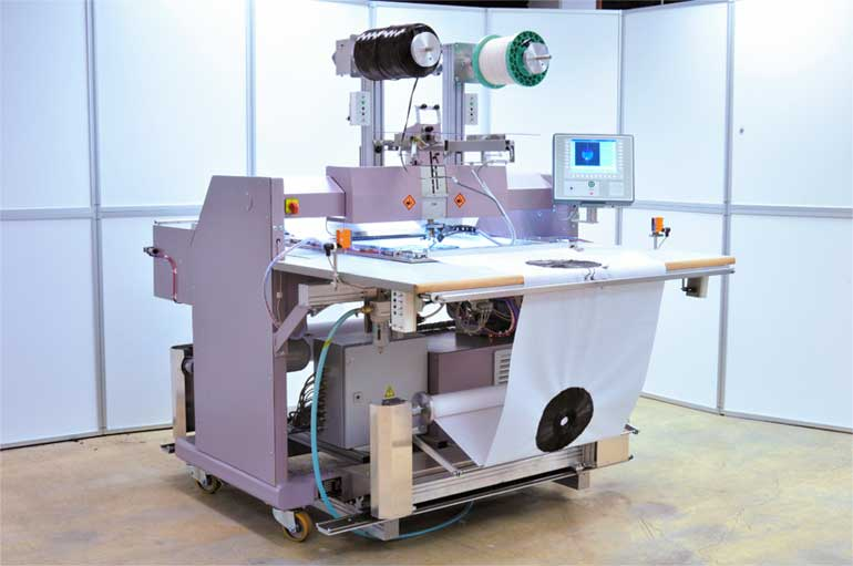 ZSK Technical Embroidery Machine JCW 0100-600