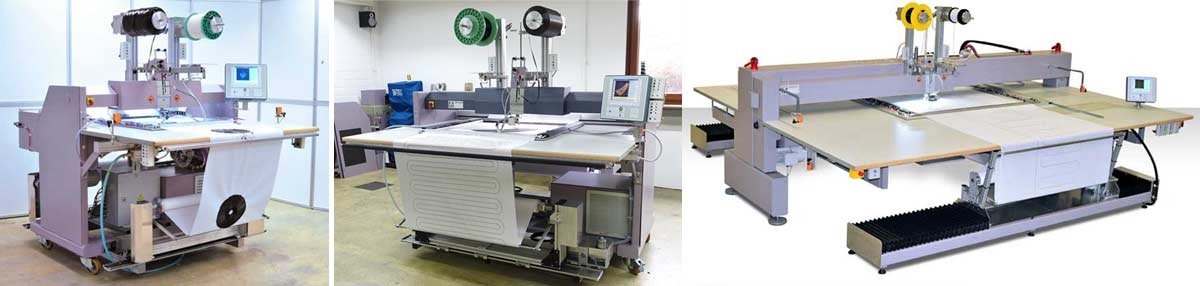 Technical Embroidery Systems of ZSK Stickmaschinen GmbH